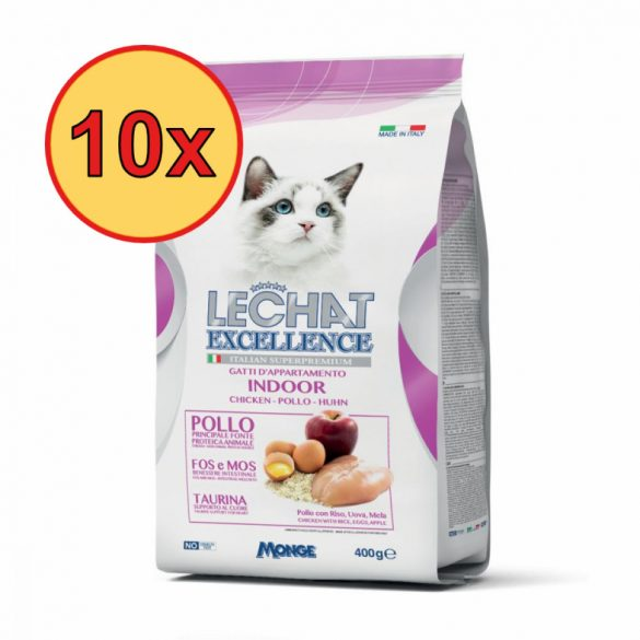 10x Lechat Excellence 400g Indoor