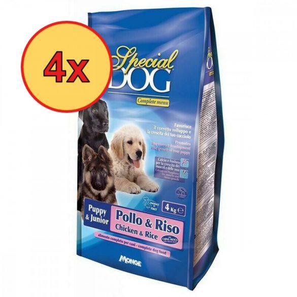 4x Special Dog 4kg Junior