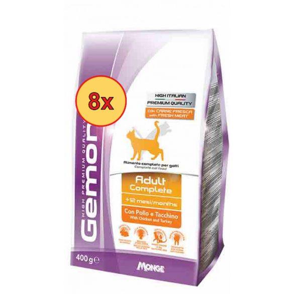 8x Gemon Cat Adult csirke-pulyka 1,5kg
