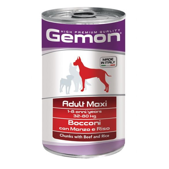Gemon Dog Maxi Marha 1250g