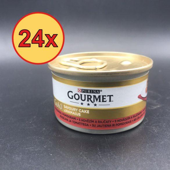 24x Gourmet Gold 85g Ragu Marha + Paradicsom