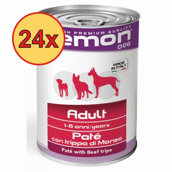 24x Gemon Dog Konzerv Pate Marha+Pacal 400g