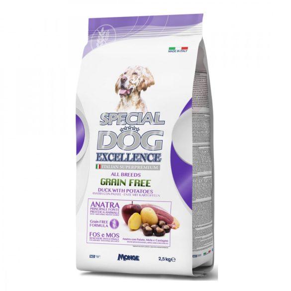Special Dog Excellence Grain Free Kacsa+Burgonya 2,5kg