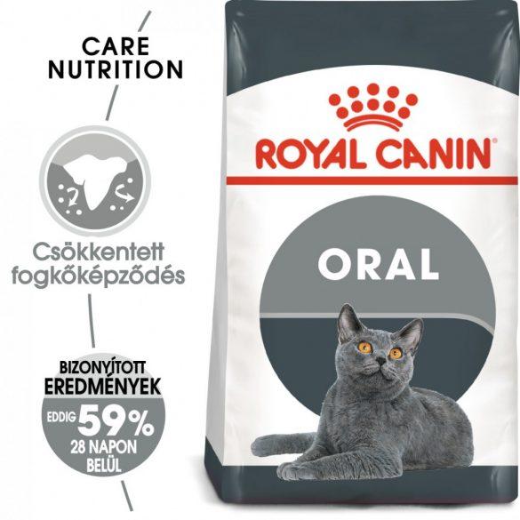 ROYAL CANIN ORAL CARE 400g Macska száraztáp