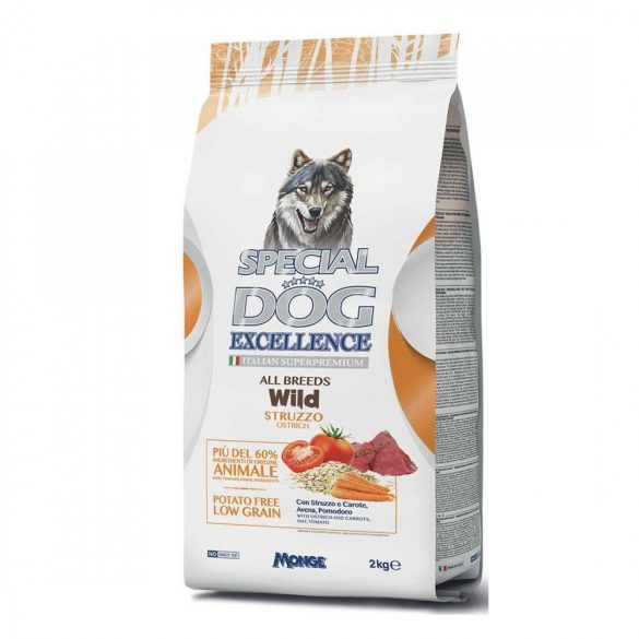 Special Dog Excellence Wild Ostrich 2kg