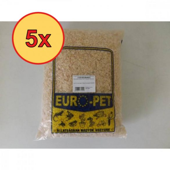 5x Euro-Pet Laza Forgács 20l