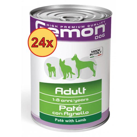 24x Gemon Dog Konzerv Paté Bárány 400g
