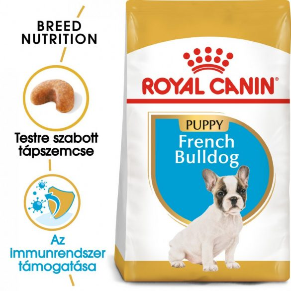 ROYAL CANIN FRENCH BULLDOG PUPPY 1kg Száraz kutyatáp