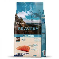 Bravery 7kg Small Puppy Lazac száraz kutyatáp