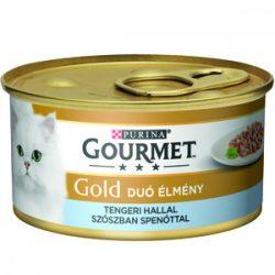 Gourmet Gold 85g Szósz Tengerihal + Spenót
