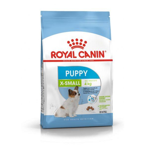ROYAL CANIN X-SMALL PUPPY 1,5kg Száraz kutyatáp