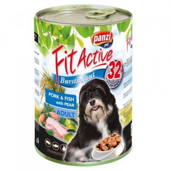 FitActive DOG 1240g Sertés+Hal+Körte
