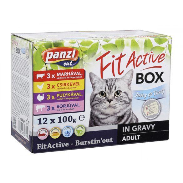 FitActive FITABOX macska 12x100g