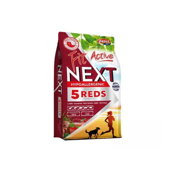 FitActive NEXT 15kg Hypoallergenic Adult FIVE REDS