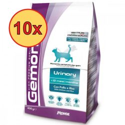 10x Gemon Cat 400g száraz Urinary