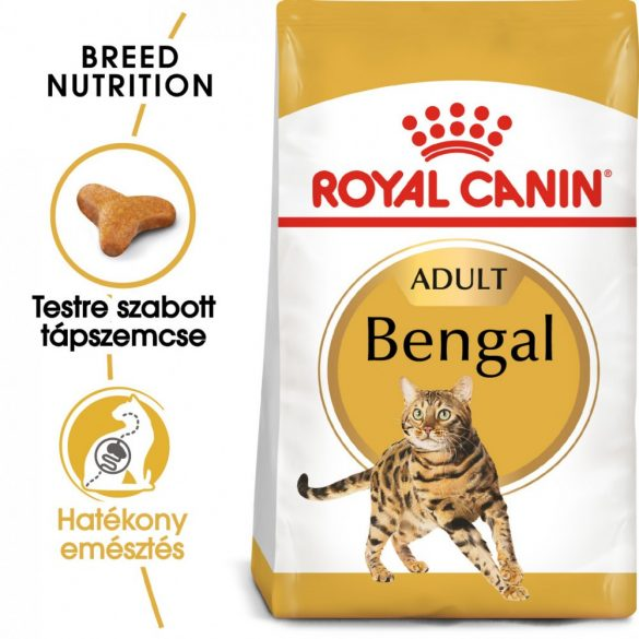 ROYAL CANIN BENGAL ADULT 2kg Macska száraztáp