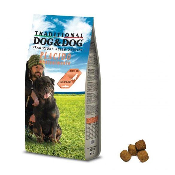 Dog&Dog Lazac Száraz Kutyatáp 20kg