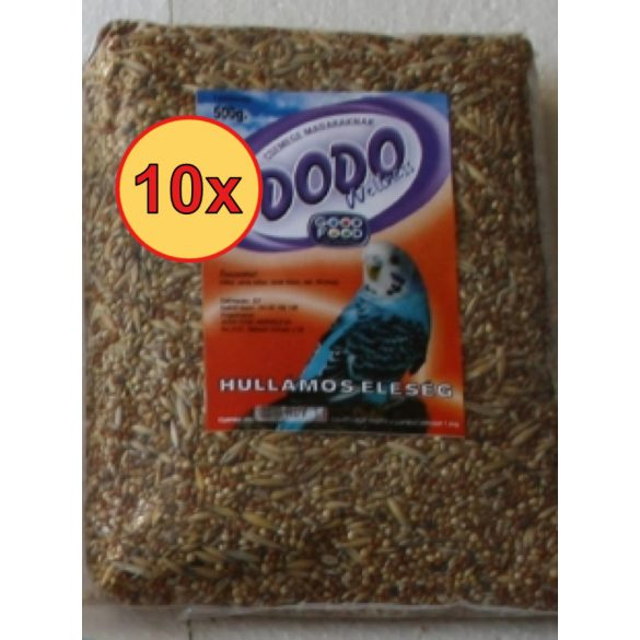 10x Dodo hullámos eleség 500g