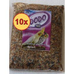 10x Dodo nimfa eleség 500g