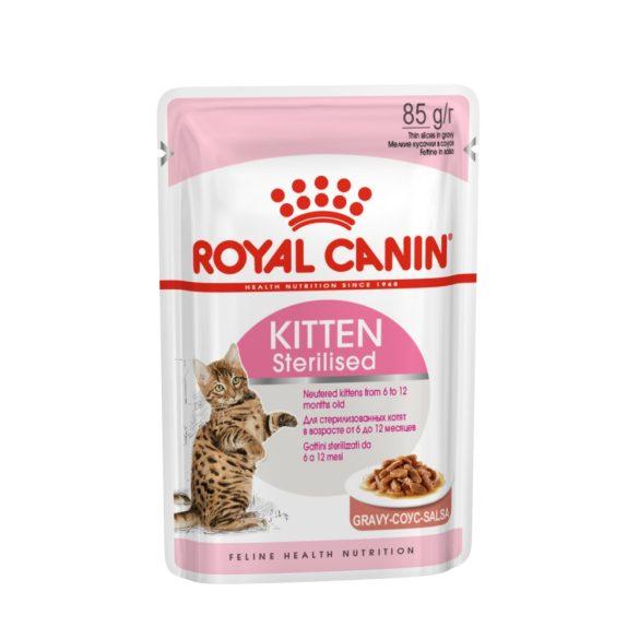 ROYAL CANIN KITTEN STERILISED 12x85g Alutasakos macskaeledel