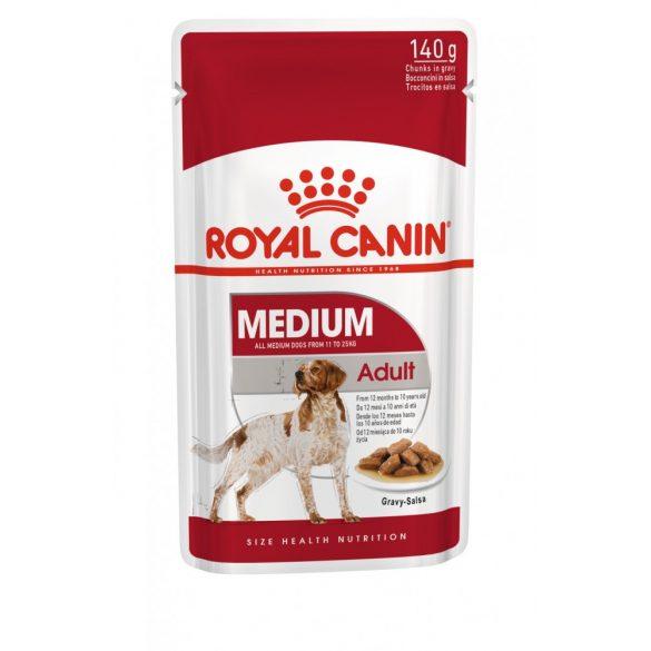ROYAL CANIN SHN WET MEDIUM ADULT 10x140g Alutasakos kutyaeledel