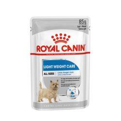 ROYAL CANIN LIGHT WEIGHT CARE 12x85g Alutasakos kutyaeledel