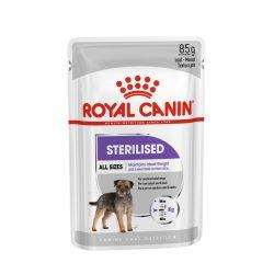 ROYAL CANIN STERILISED 12x85g Alutasakos kutyaeledel