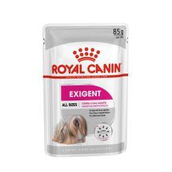 ROYAL CANIN EXIGENT 12x85g Alutasakos kutyaeledel
