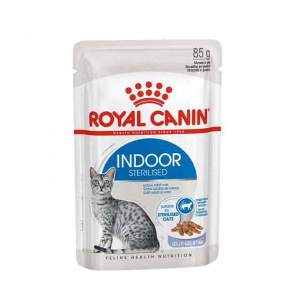 ROYAL CANIN INDOOR STERIL JELLY 12x85g Alutasakos macskaeledel
