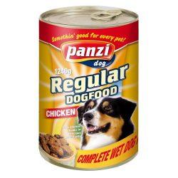 Panzi konzerv kutya 1240g csirke