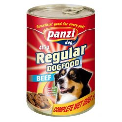 Panzi konzerv kutya 1240g marha