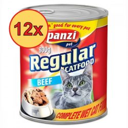 12x Panzi konzerv macska 800g marha