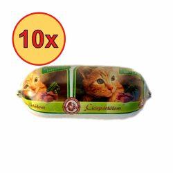10x Bekker Cica Szalámi 400g Vad+Zöldség