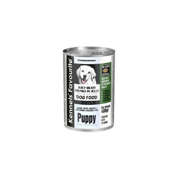 Kennel's Favourite Puppy Pulyka 400g Kutyakonzerv