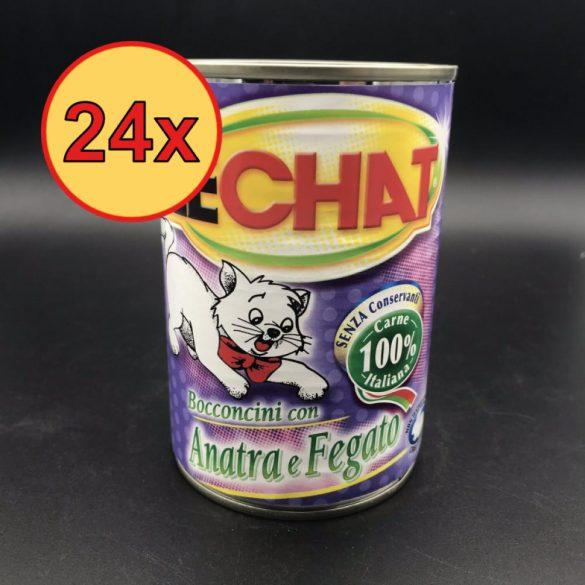 24x Lechat 400g Kacsa