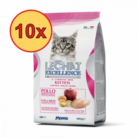 10x Lechat Excellence 400g Kitten