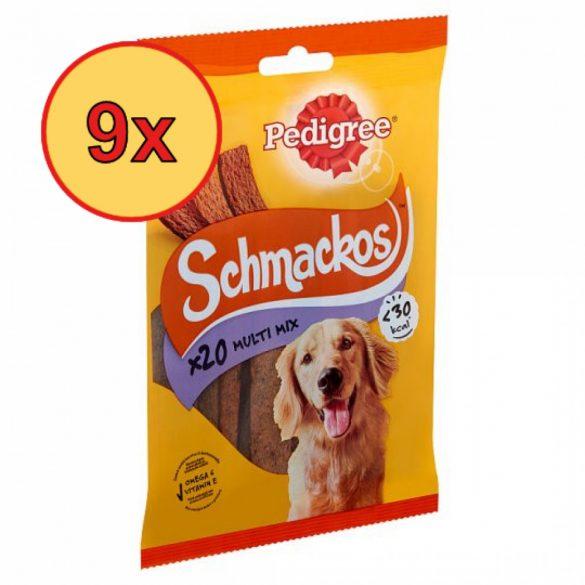 9x Pedigree Schmackos 144g Multimix