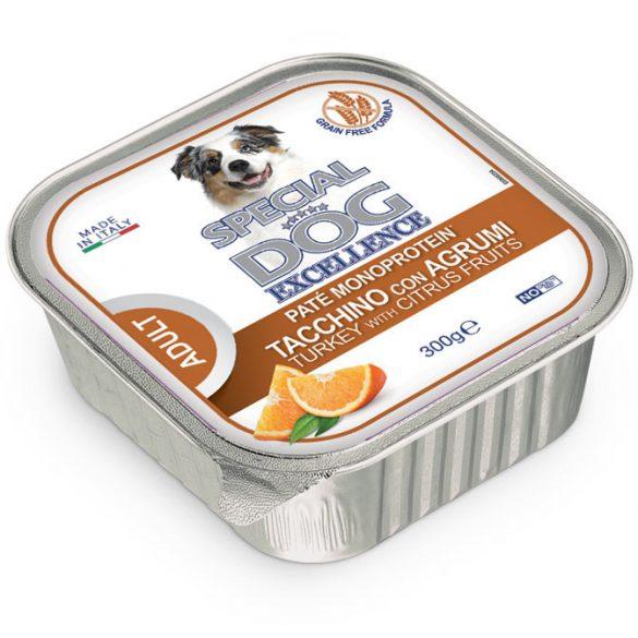 Special Dog Excellence Fruits 300g Pate Monoprotein Pulyka+Citrusfélék Alutálca
