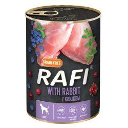 Rafi 400g Adult Pate Nyúl Kék és Vörösáfonyával Kutyakonzerv