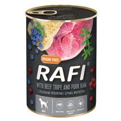 Rafi 400g Adult Pate Sonka + Pacal Kék és Vörösáfonyával Kutyakonzerv