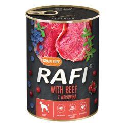 Rafi 400g Adult Pate Marha Kék és Vörösáfonyával Kutyakonzerv
