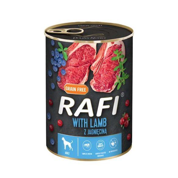 Rafi 400g Adult Pate Bárány Kék és Vörösáfonyával Kutyakonzerv