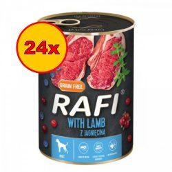 24x Rafi 400g Adult Pate Bárány Kék és Vörösáfonyával Kutyakonzerv