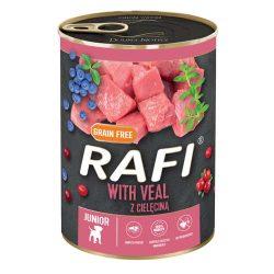 Rafi 400g Puppy Pate Borjú Kék és Vörösáfonyával Kutyakonzerv