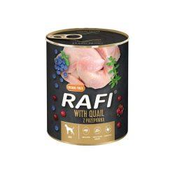 Rafi 800g Adult Pate Fürj Kék és Vörösáfonyával Kutyakonzerv