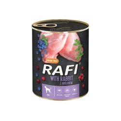 Rafi 800g Adult Pate Nyúl Kék és Vörösáfonyával Kutyakonzerv