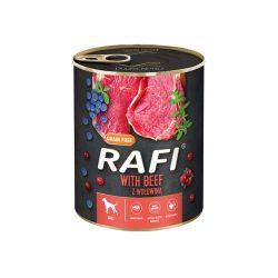 Rafi 800g Adult Pate Marha Kék és Vörösáfonyával Kutyakonzerv