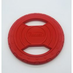 Frizbi 20 cm - piros, EXTRA vastag