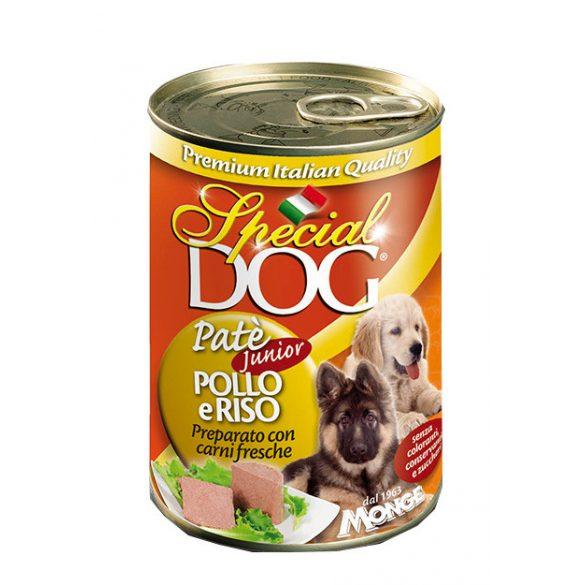 Special Dog 400g Pate Junior Csirke