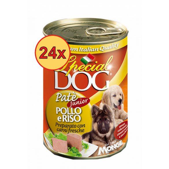 24x Special Dog 400g Pate Junior Csirke